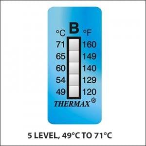 Thermax Temperature Indicating Labels